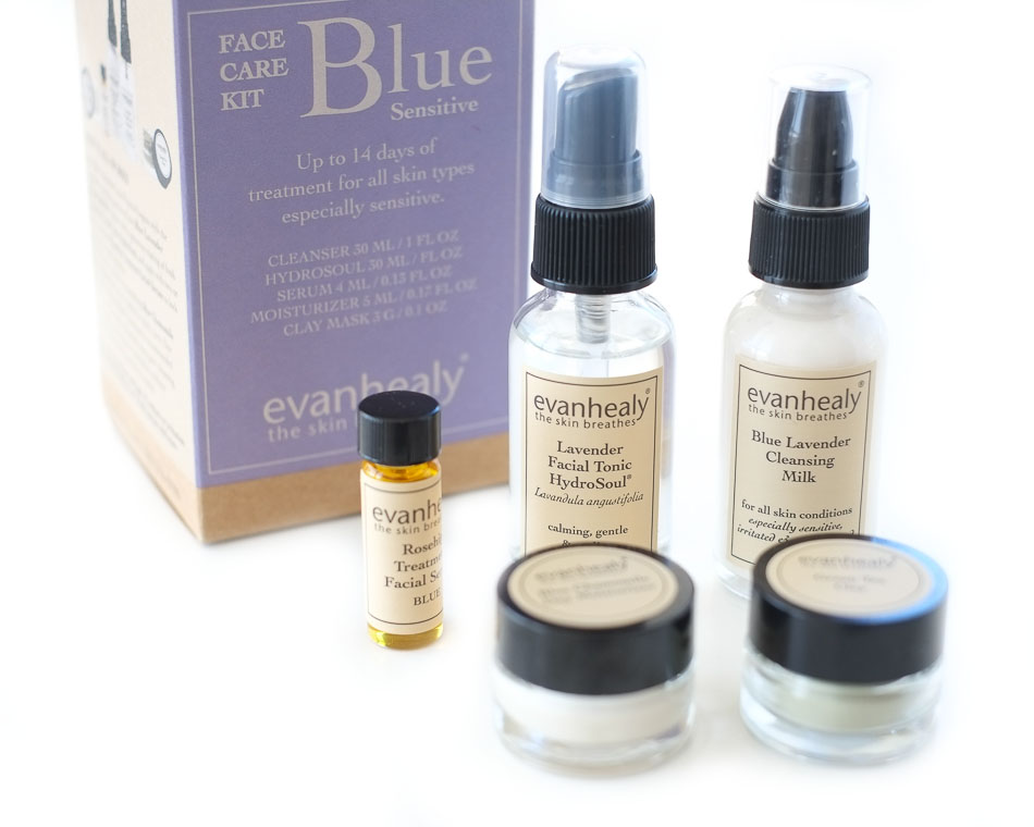 Evan Healy Blue Face Care Kit