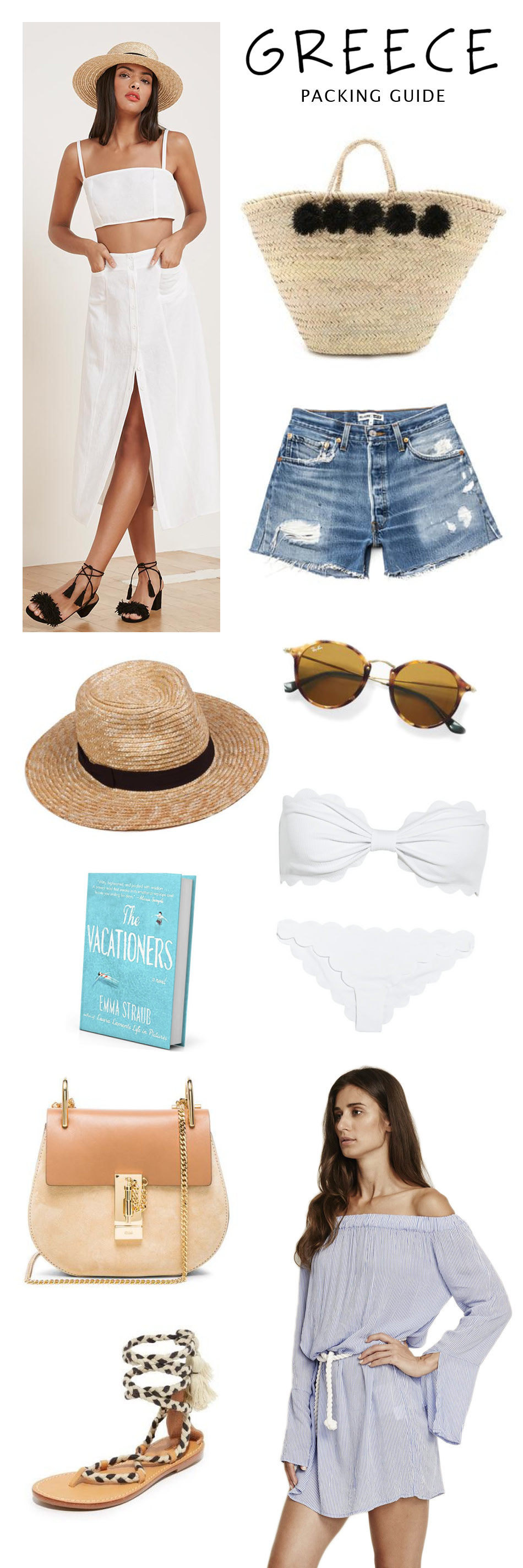 HANNAH SHELBY: GREECE PACKING GUIDE